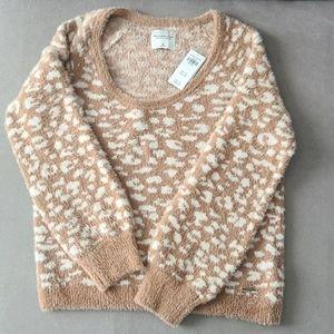 NWT Leopard Abercrombie Sweater